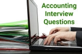 5 Common Accounting Interview Questions