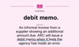 Meaning of Debit Memo on a Bank Statement